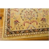 "Ki12 Ancient Times Rectangle Rug By, Gold, 7'9"" X 10'10"""