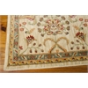 "Nourison Ki12 Ancient Times Rectangle Rug  By Nourison, Ivory, 7'9"" X 10'10"""