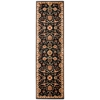 "Ancient Times ""Persian Treasure"" Black Area Rug"