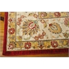 "Ki12 Ancient Times Rectangle Rug By, Red, 7'9"" X 10'10"""