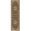 "Ki12 Ancient Times Runner Rug By, Teal, 2'2"" X 7'6"""