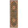 "Ancient Times ""Palace"" Teal Area Rug"