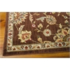 "Ki12 Ancient Times Rectangle Rug By, Brown, 7'9"" X 10'10"""