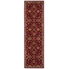 "Ki12 Ancient Times Runner Rug By, Red, 2'2"" X 7'6"""
