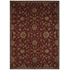"Nourison Ki12 Ancient Times Rectangle Rug  By Nourison, Red, 7'9"" X 10'10"""