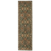 "Nourison Ki12 Ancient Times Runner Rug  By Nourison, Teal, 2'2"" X 7'6"""