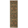 "Ancient Times ""Ancient Treasures"" Teal Area Rug"