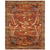 "Dynasty ""Imperial"" Persimmon Area Rug"