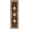 "Nourison Bordeaux Runner Rug  By Nourison, Burgundy, 2'2"" X 7'6"""