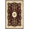 "Bordeaux Rectangle Rug By, Burgundy, 3'9"" X 5'9"""