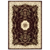"Bordeaux Rectangle Rug By, Burgundy, 5'3"" X 7'4"""