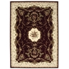 "Nourison Bordeaux Rectangle Rug  By Nourison, Burgundy, 7'10"" X 10'10"""