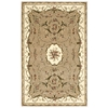 "Nourison Bordeaux Rectangle Rug  By Nourison, Cream, 3'9"" X 5'9"""