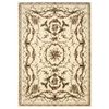 "Bordeaux Rectangle Rug By, Ivory, 5'3"" X 7'4"""