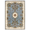 "Nourison Bordeaux Rectangle Rug  By Nourison, Slate Blue, 5'3"" X 7'4"""