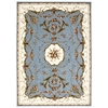Bordeaux Slate Blue Area Rug