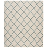 "Nourison Brisbane Rectangle Rug  By Nourison, Ivory Aqua, 8'2"" X 10'"