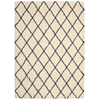 Brisbane Rectangle Rug By, Ivory Blue, 5' X 7'