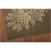 "Nourison Capri Rectangle Rug  By Nourison, Chocolate, 5'3"" X 7'5"""