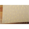 "Nourison Capri Rectangle Rug  By Nourison, Beige, 5'3"" X 7'5"""