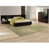"Capri Rectangle Rug By, Light Green, 5'3"" X 7'5"""