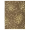 "Nourison Capri Rectangle Rug  By Nourison, Mocha, 7'9"" X 10'10"""