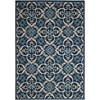 Caribbean Navy Indoor/Outdoor Area Rug