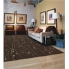 "Nourison Cambridge Rectangle Rug  By Nourison, Chocolate, 7'9"" X 10'10"""