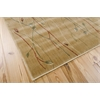 "Nourison Cambridge Rectangle Rug  By Nourison, Gold, 5'3"" X 7'4"""