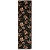 "Cambridge Runner Rug By, Black, 2'3"" X 8'"