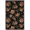 "Nourison Cambridge Rectangle Rug  By Nourison, Black, 3'6"" X 5'6"""