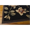 "Cambridge Rectangle Rug By, Black, 7'9"" X 10'10"""