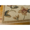 "Nourison Cambridge Rectangle Rug  By Nourison, Ivory, 7'9"" X 10'10"""