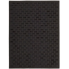 "Joab2 Chicago Rectangle Rug By, Black, 5'3"" X 7'5"""