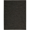 Nourison Joab2 Chicago Rectangle Rug  By Nourison, Black, 8' X 11'