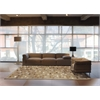"Joab2 Chicago Rectangle Rug By, Brown, 5'3"" X 7'5"""