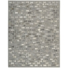 "Nourison Joab2 Chicago Rectangle Rug  By Nourison, Grey, 5'3"" X 7'5"""