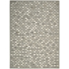 Nourison Joab2 Chicago Rectangle Rug  By Nourison, Grey, 8' X 11'