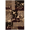 "Nourison Contour Rectangle Rug  By Nourison, Mocha, 3'6"" X 5'6"""