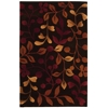 "Nourison Contour Rectangle Rug  By Nourison, Chocolate, 3'6"" X 5'6"""