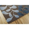 Contour Rectangle Rug By, Mocha, 5' X 7'6""