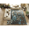 "Nourison Contour Rectangle Rug  By Nourison, Mocha, 7'3"" X 9'3"""