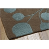 Contour Rectangle Rug By, Mocha, 8' X 10'6""