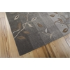 Contour Rectangle Rug By, Stone, 5' X 7'6""