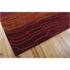 Nourison Contour Rectangle Rug  By Nourison, Sunburst, 5' X 7'6""