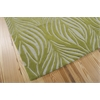 Nourison Contour Rectangle Rug  By Nourison, Green, 5' X 7'6""
