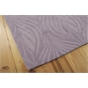 Nourison Contour Rectangle Rug  By Nourison, Lavender, 5' X 7'6""
