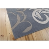 Contour Rectangle Rug By, Silver, 5' X 7'6""