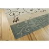 Contour Rectangle Rug By, Green, 5' X 7'6""