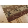 Contour Rectangle Rug By, Multicolor, 5' X 7'6""